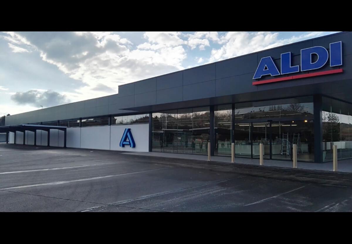 ALDI TERUEL fachada exterior ACTIV-GROUP