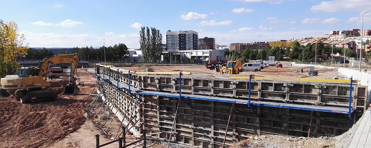 ALDI TERUEL muro 2015